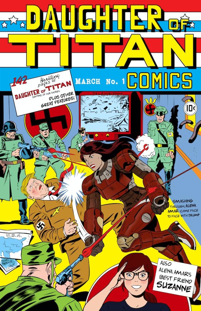 Captain America #1 Parody