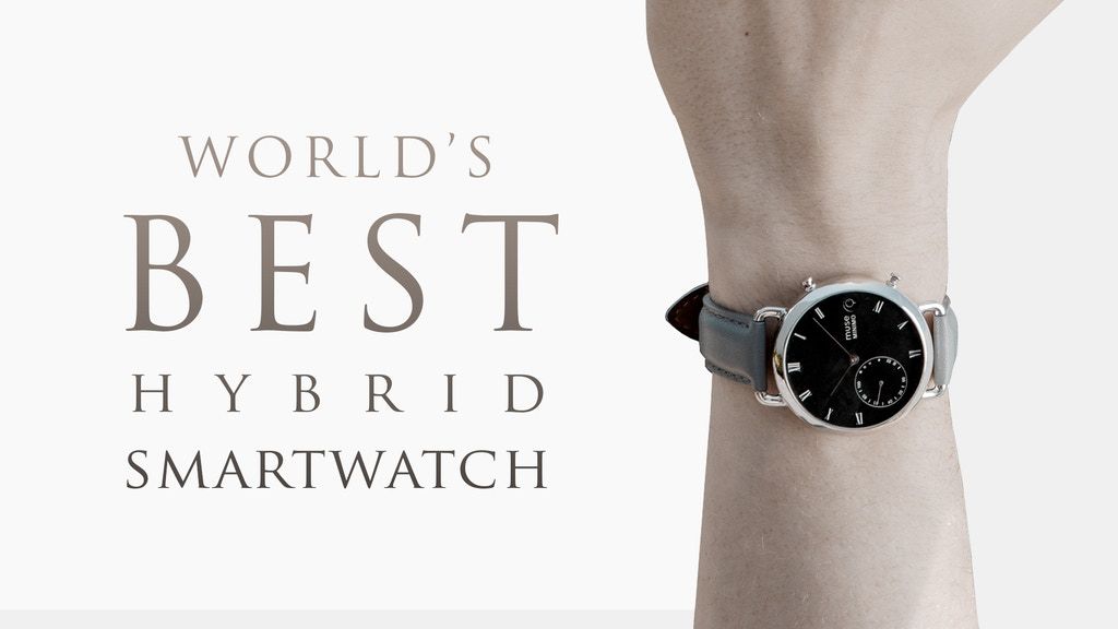 The World's Best Hybrid Smartwatch - Muse Wearables project video thumbnail