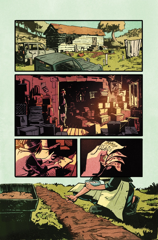 "Sample page from ""Everything I Own"" by Lela Gwenn, Tony Gregori, and Josh Jensen"