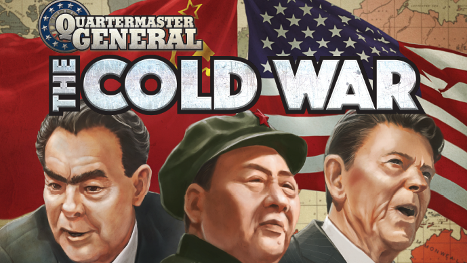 Ian Brody's acclaimed card-driven Quartermaster General series heads into the Nuclear Age!