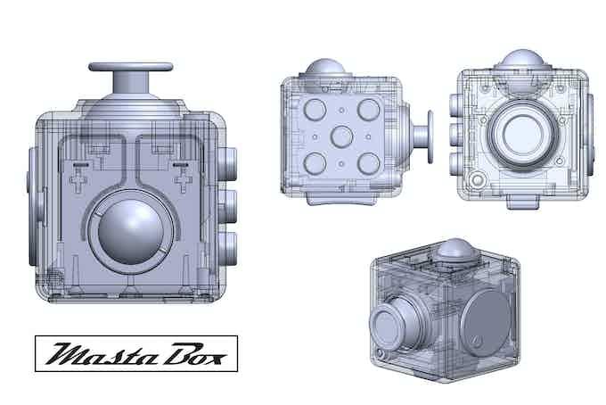 Masta Box 3D design diagram