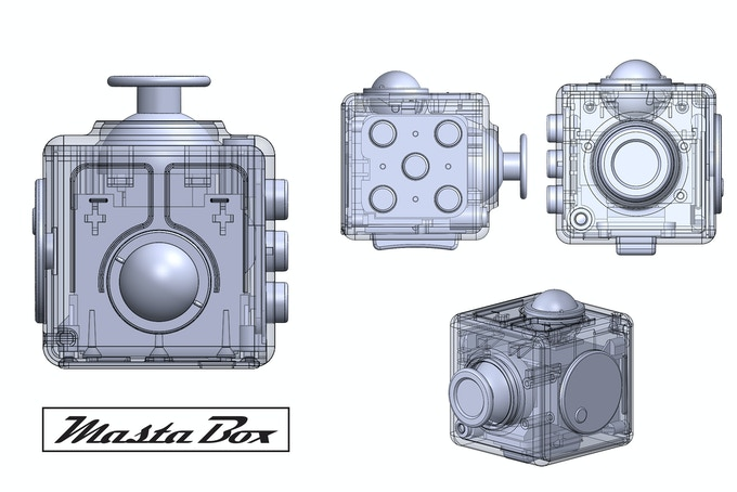 Masta Box 3D design diagram
