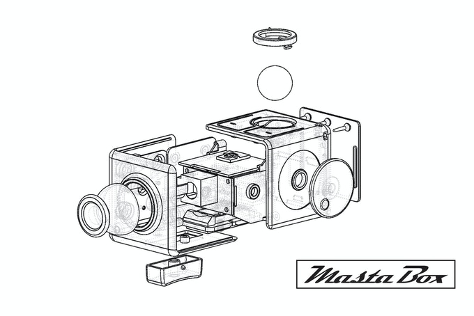 Masta Box Exploded View
