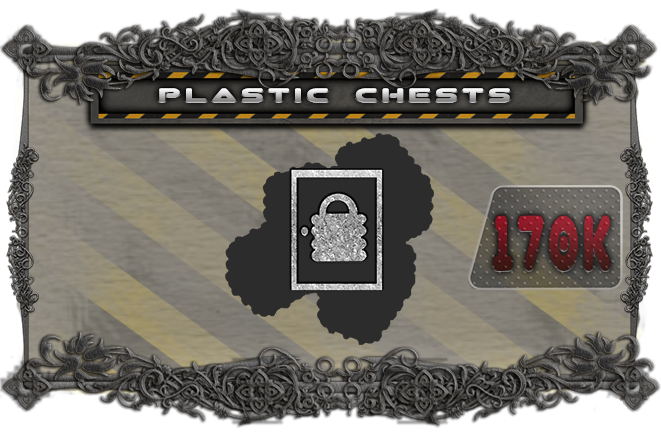 Upgrade the cardboard chest tokens to plastic chest miniatures.