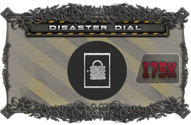 Replace the red disaster cards with a rotating card dial for extra dramatic tension