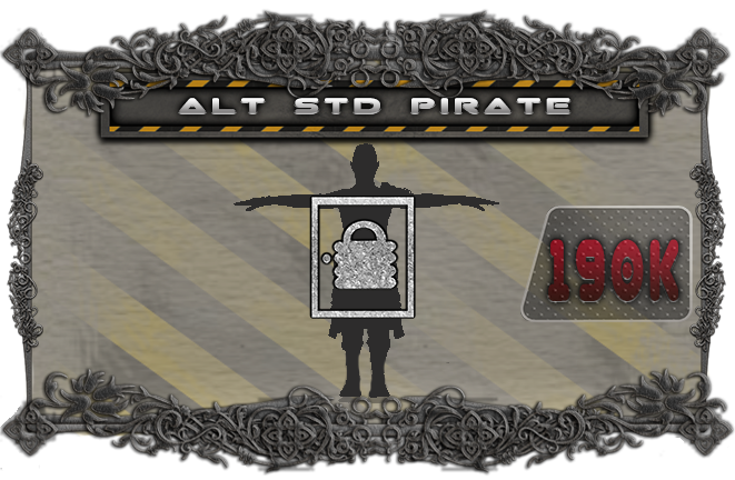 Alternate pose for the pirates, changing 20 of the standard pirates to this pose