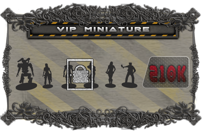 Add a VIP miniature to replace the cardboard token for Mission 8 or your own custom scenarios