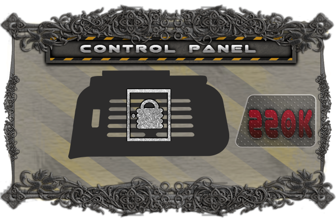Add a control panel miniature to the game for use in mission 8 or your own custom scenarios