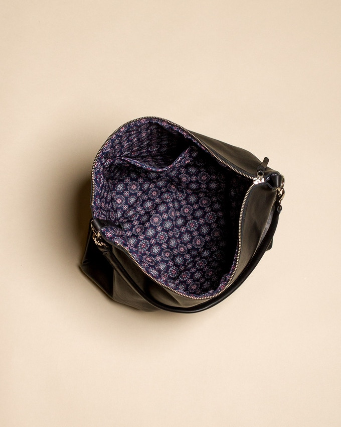 Looking inside the Jacqui Bag