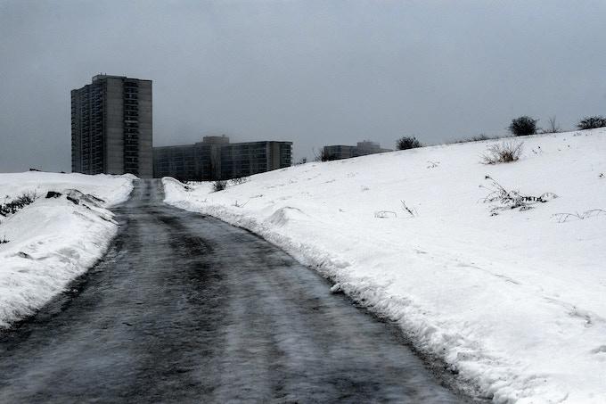 Untitled (ice road)
