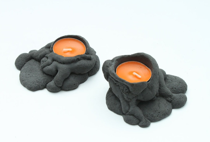 Lava Candelabra, in their dormant state