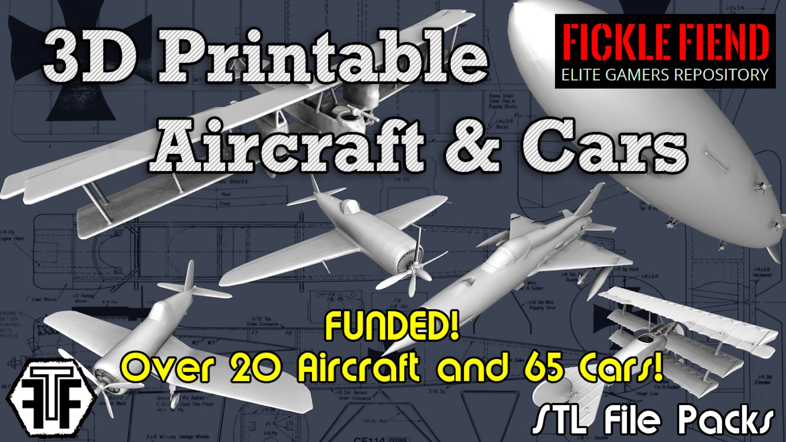 3d printable aircraft 1 144 scale stl files for gaming by fickle