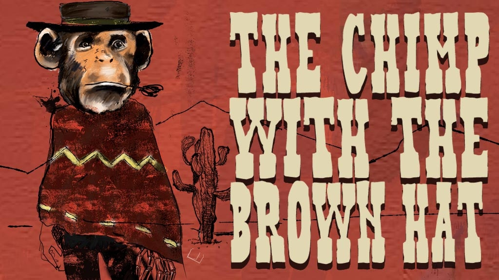 Quickstarter- Issue #1 of The Chimp With The Brown Hat project video thumbnail