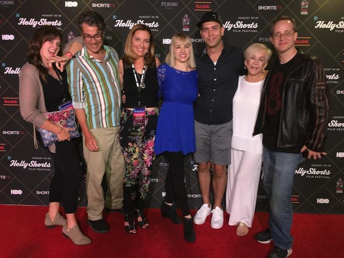 Cast of TRAWATN at Hollyshorts Film Festival!