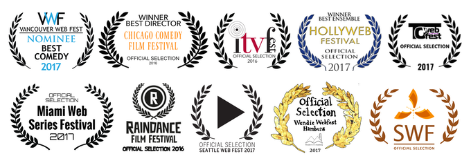 A small sampling of the dozens of film festivals that screened TRAWATN