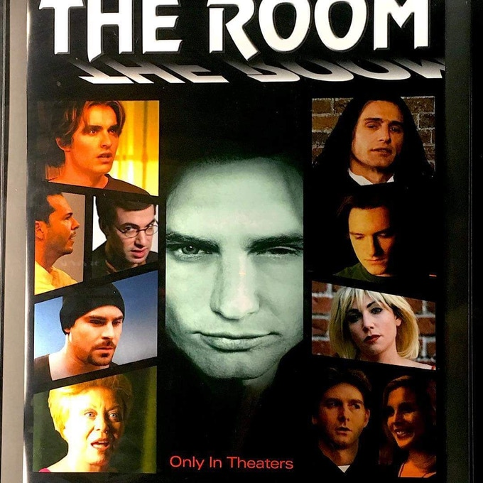 Poster from THE DISASTER ARTIST with James Franco