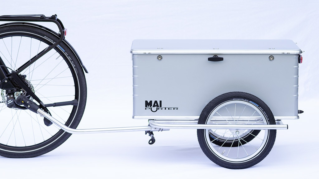 Project image for The bicycle trailer for everyday use with your e-bike!
