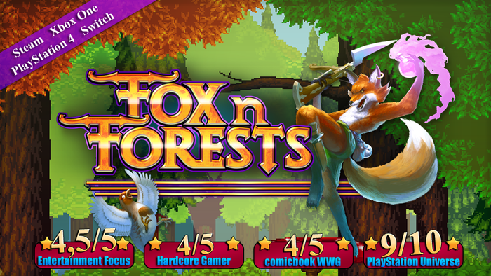 FOX n FORESTS by Bonus Level Entertainment — Kickstarter