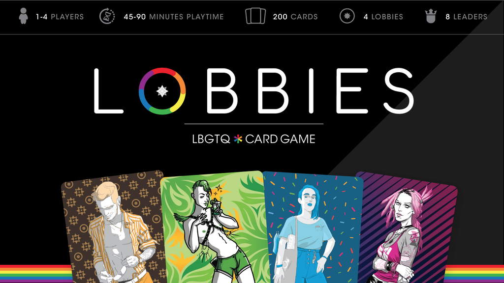 LOBBIES - lgbtqi* card game project video thumbnail