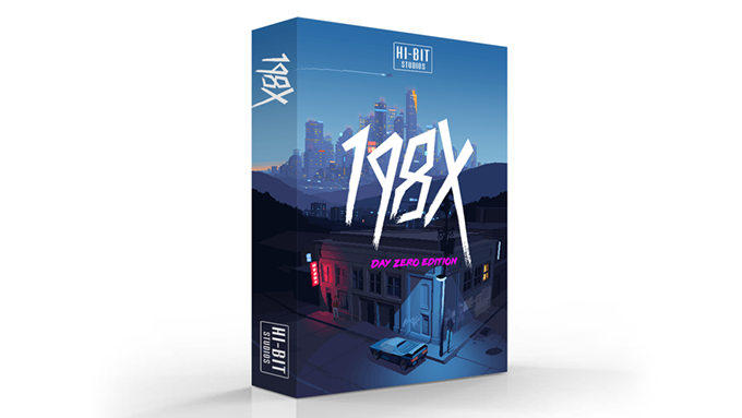 The boxed version of the game – 198X: Day Zero Edition
