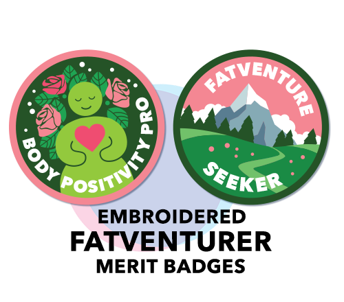 Fatventurer Merit Badges