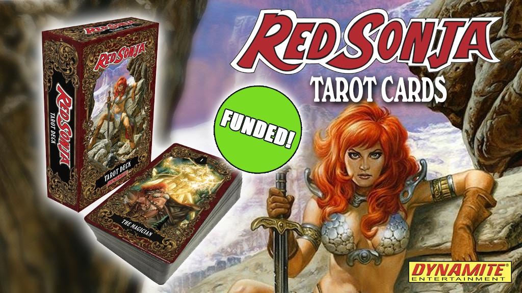 Red Sonja Tarot Deck project video thumbnail