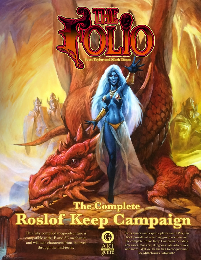 The Complete Roslof Keep hardcover edition