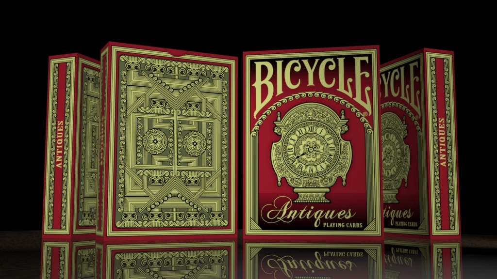 Project image for Bicycle Antiques Playing Cards