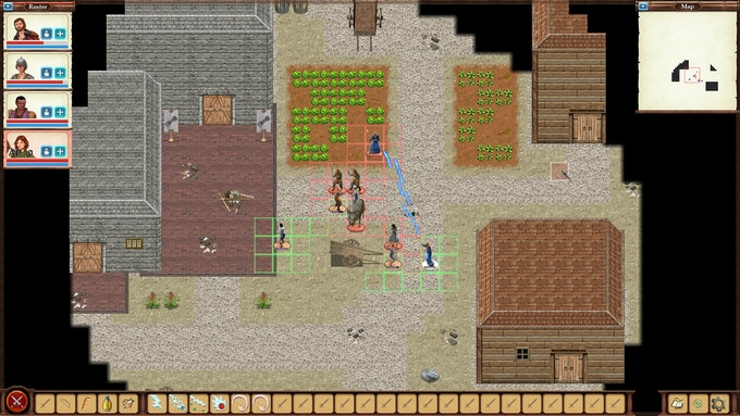 A bunch of dirty brigands dared to take over a Haven outpost. Set them on fire.