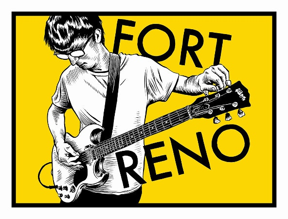 Fort Reno poster by Ryan Nelson