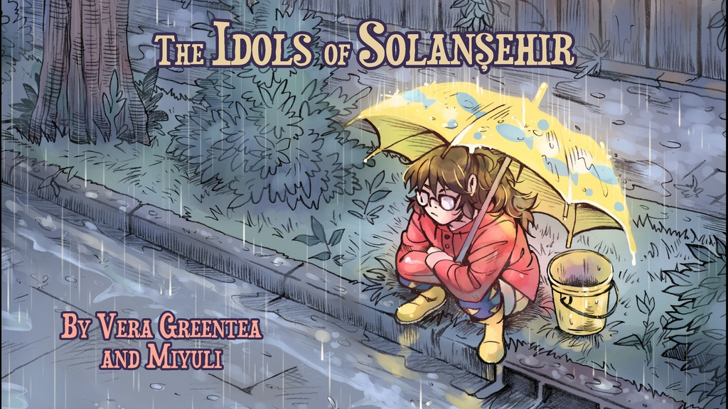 The Idols of Solansehir 2: An Indie Comics Project