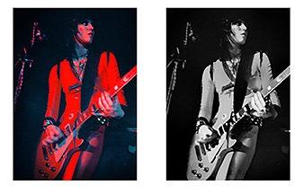 Runaways, Joan Jett - Rat 1977 Color or B&W