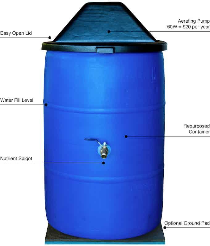 Aeromatico Fully Automatic Compost Bin
