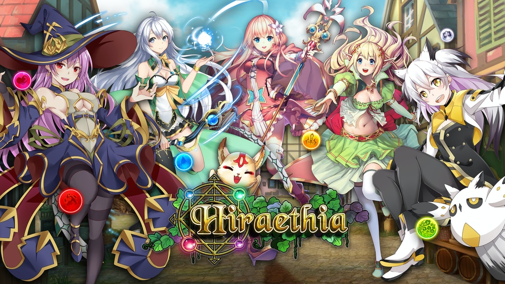 Hiraethia - An Anime Puzzle Adventure Game (Relaunch) project video thumbnail
