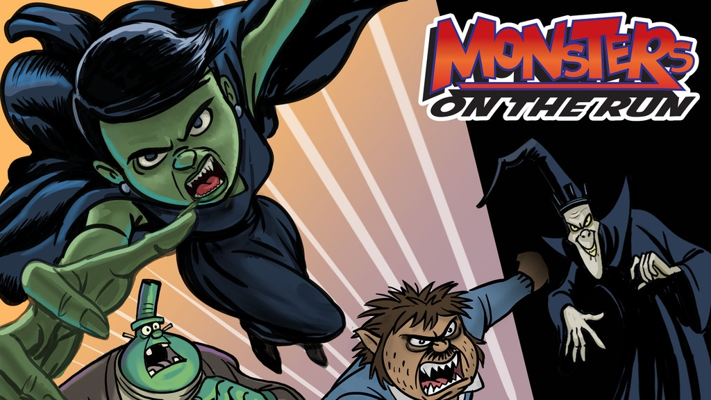 MONSTERS ON THE RUN #2 COMIC BOOK project video thumbnail