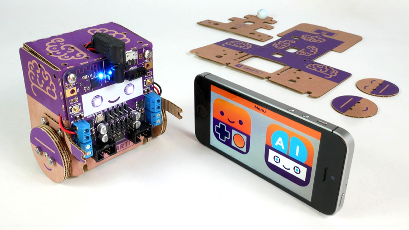 Smartibot: The world's first A I  enabled cardboard robot by