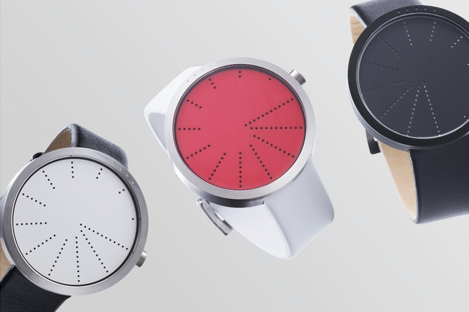 Order comes in a white, red, or black watchface.