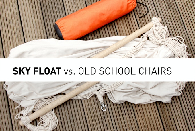 Less is more: SkyFloat - 100% comfort, 50% size, 30% weight
