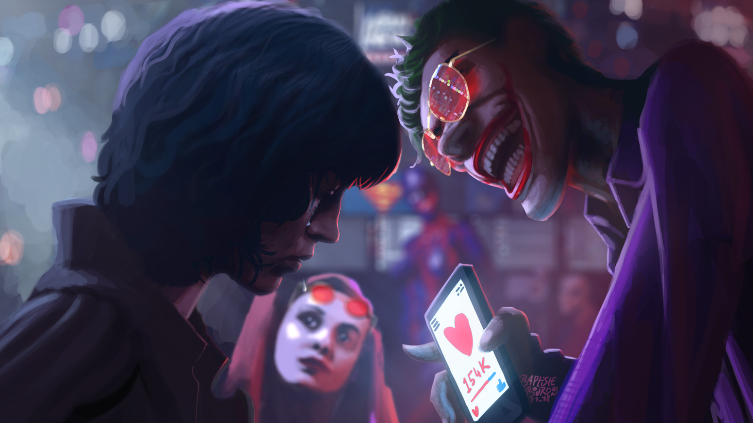 Court-métrage sur l'interview du Joker par la journaliste Lois Lane. #fakenews #press #medias #hacking #loislane #joker #socialmedia