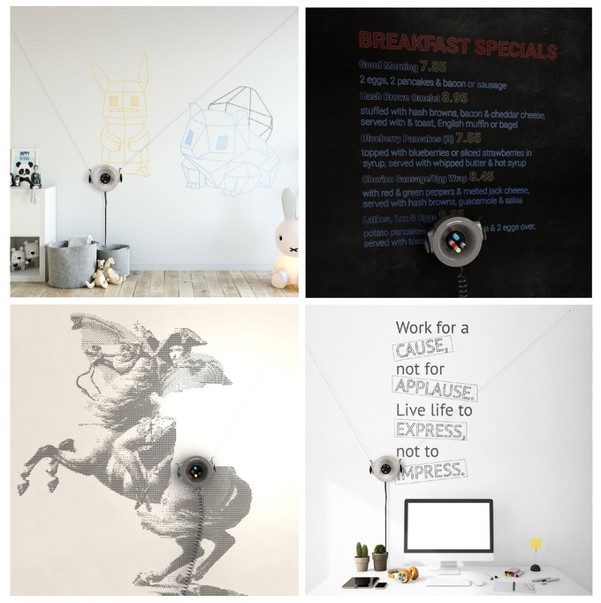 Scribit - Turn your wall into an interactive canvas by
