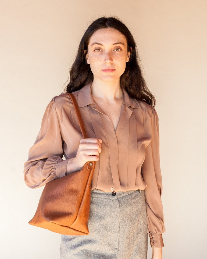 Jacqui Crossbody in Fawn, Shoulder Strap Only