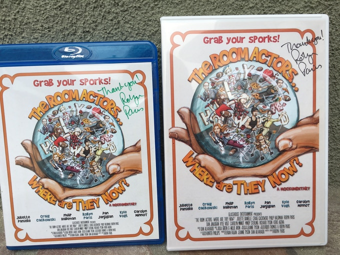 DVD/BluRay signed by me! $55 and $65 level