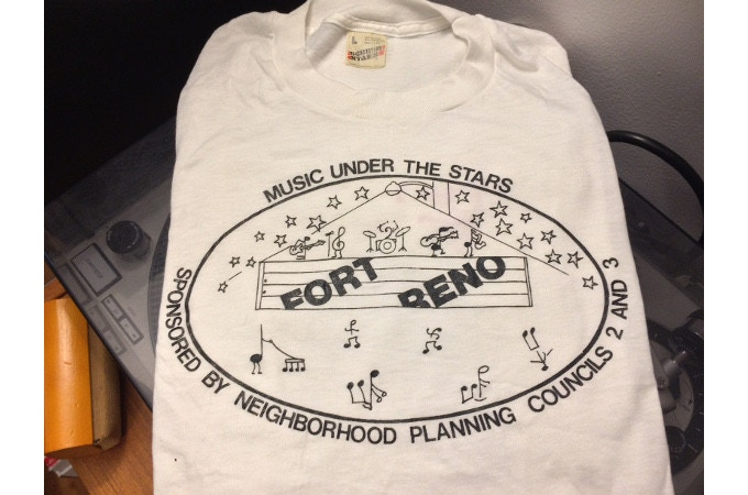 Early '80s Fort Reno T-shirt