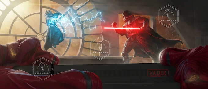 Has Vader gone rogue? Where in the fan film does this take place?