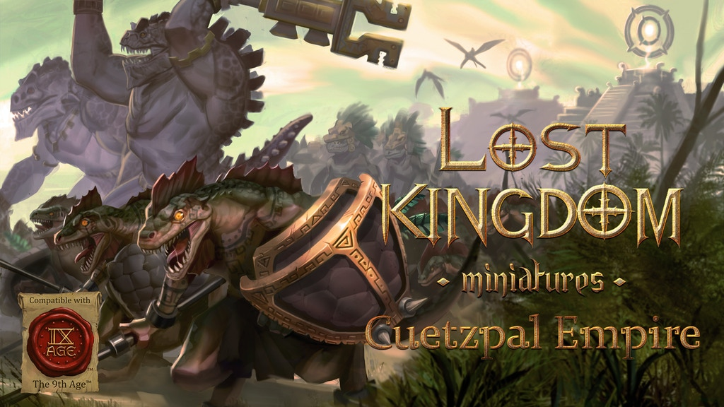Lost Kingdom Miniatures: Cuetzpal Empire project video thumbnail