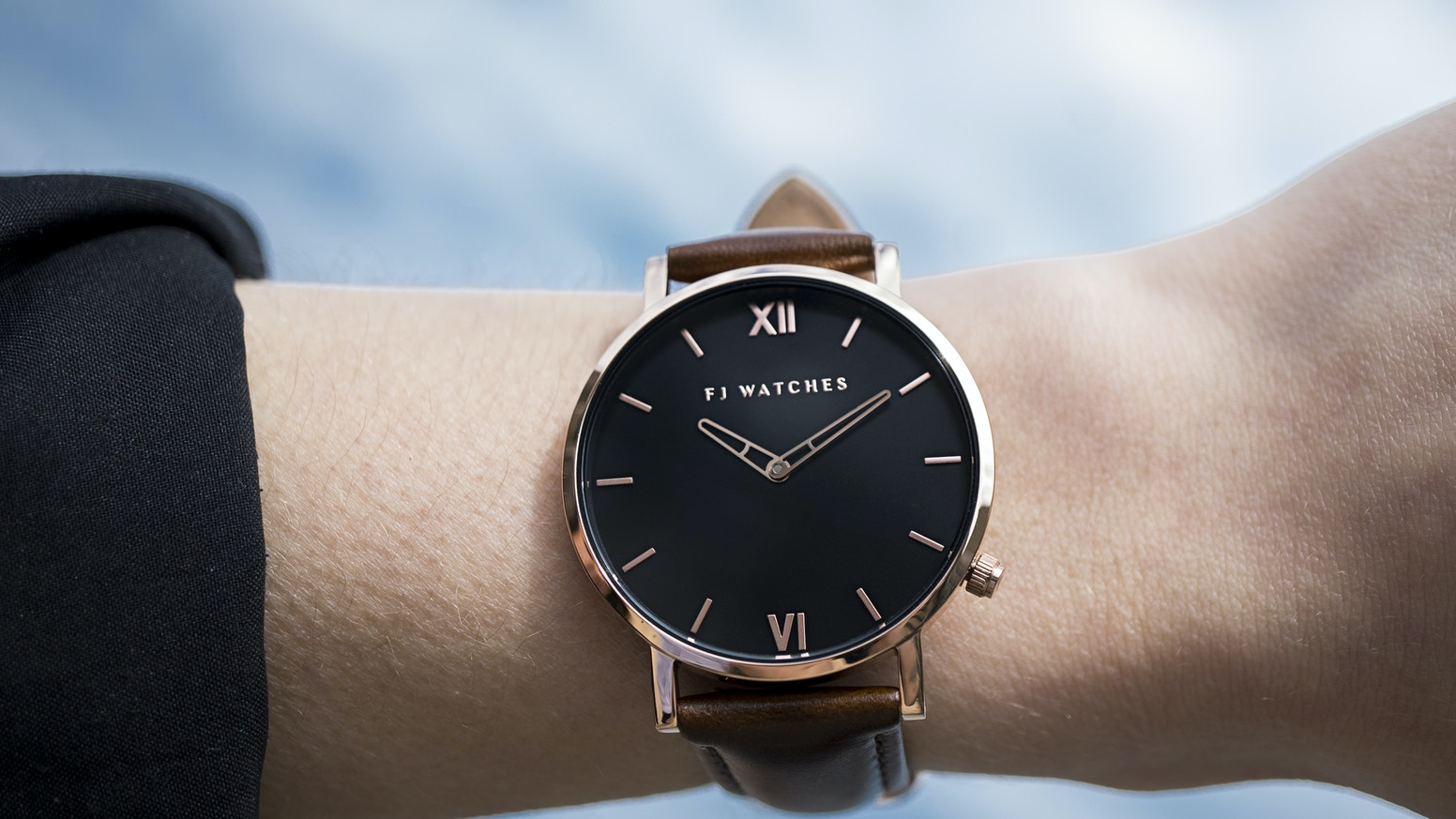 Fj Watches Unique Minimalist Timepiece For Him And Her By Jeremy