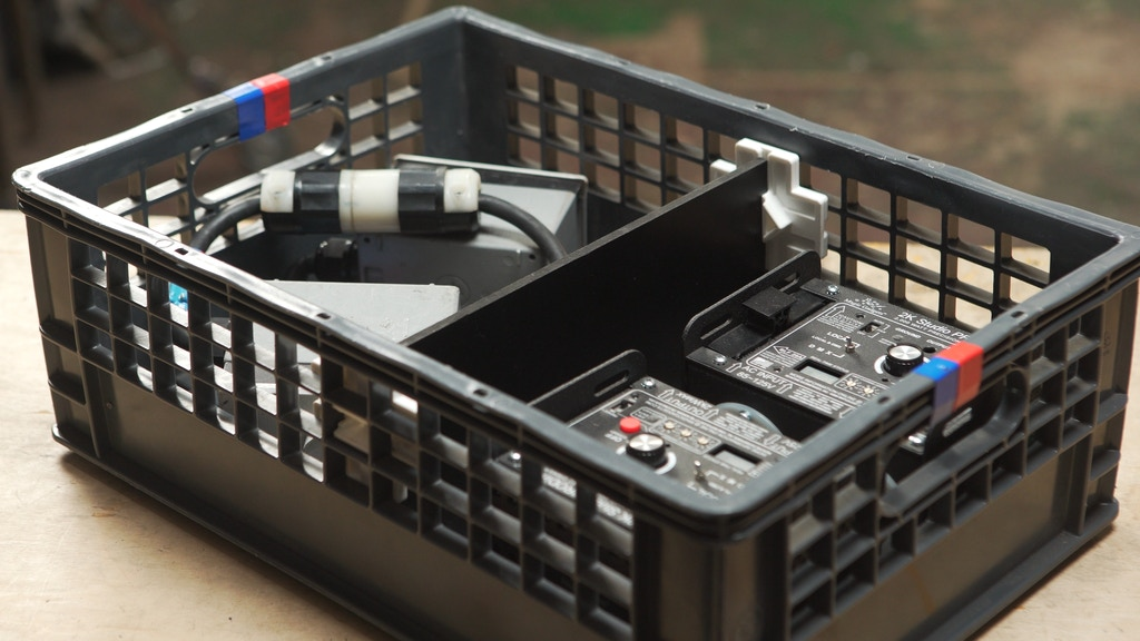 The Milk Crate Divider!