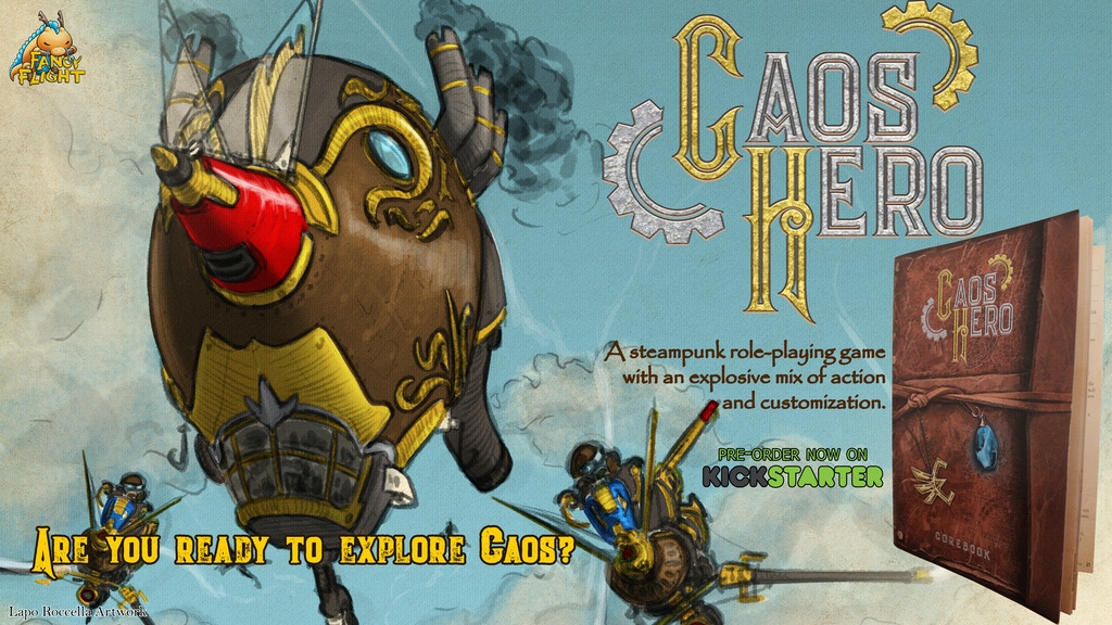 Project image for Caos Hero