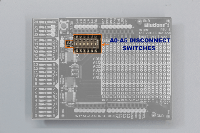 A0-A5 DISCONNECT SWITCHES