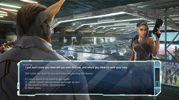Dialogue Scene